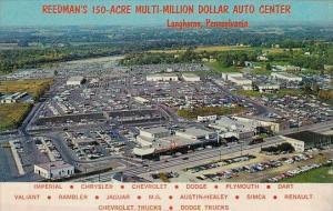 Pennsylvania Langhorne Aerial View Reedman's 150 Acre Multi Million Dollar Au...