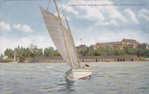 Breezy Point And Belvedere Hotel Charlevoix Michigan