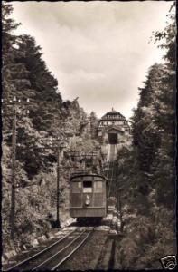 germany, HEIDELBERG, Bergbahn Königstuhl, Funicular 50s