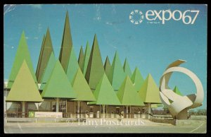 The Canadian Pulp and Paper Pavilion - Expo 67