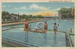 OLEAN , New York , PU-1950 ; Municipal Swimming Pool