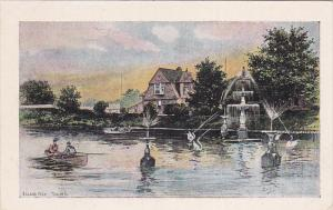 Island Park, Couple In A Boat, Waterfountain, TORONTO, Ontario, Canada, 1910-...