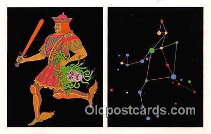 Space Postcard Post Card Perseus the Champion Artist Joel Izatt unused