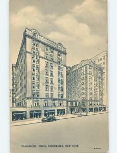 Damaged-Back Pre-1952 SAGAMORE HOTEL Rochester New York NY B4740