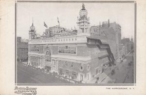 NEW YORK CITY,  New York, 1901-07; The Hippodrome