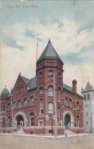 Post Office, York, Pennsylvania, PU-1912