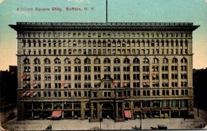New York Buffalo Ellicott Square Building 1915