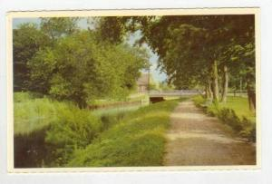 View of Dirt Path & River,Grena,Denmark 1930-40s