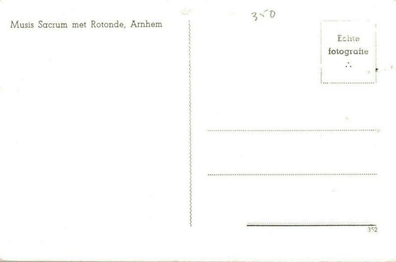 Netherlands Musis Sacrum met Rotonde Arnhem 02.66