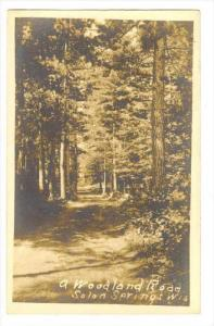 RP, Woodland Road, Solon Springs, Wisconsin, PU-1915