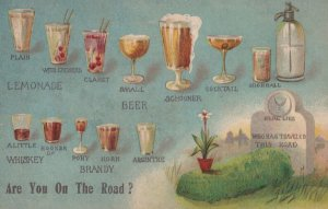 Prohibition Humor , Are you on the road? , 1917