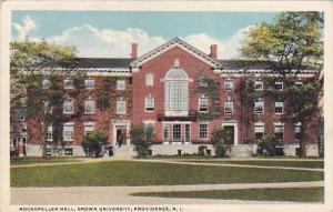 Rockefeller Hall Brown University Providence Rhode Island 1923