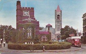 New Hampshire Nashua Public Library 1st Congregational Church & Tavern sk7018