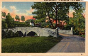 Maryland Antietam Battlefield Burnside Bridge