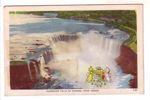 Horseshoe Falls from Canada, Shield, Niagara Falls, Jordan Station Ont Cancel