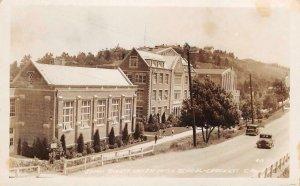 RPPC JOHN SWETT UNION HIGH SCHOOL Crockett, CA c1930s Vintage Postcard