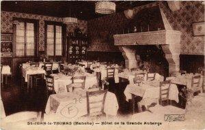 CPA St-JEAN-le-THOMAS - Hotel de la Grande Auberge (589379)
