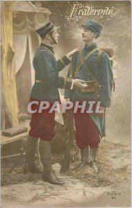 Postcard Old Fraternite Army