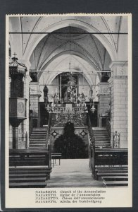 Israel Postcard - Nazareth - Church of The Annunciation     T9828