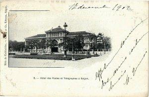 VIETNAM INDOCHINE - Hotel des Postes et Télégraphes a Saigon (190190)