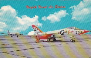 Virginia Norfolk Naval Air Station Supersonic Grumman FIIF Tiger Jet