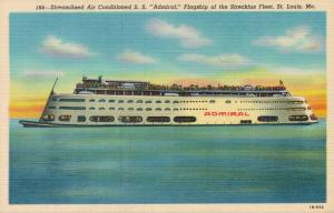 USA - Steamlined Air Conditioned S. S. Admiral Flagship St Louis 01.65
