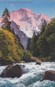 Switzerland Luetschine mit Jungfrau
