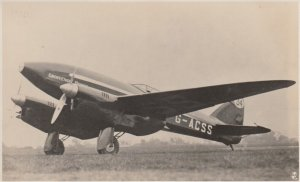 RP: England to Australia Air Race , 1934 ; Grosvenor House Airplane ; TUCK