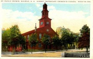 Canada - Nova Scotia, Halifax. St Paul's Anglican Church