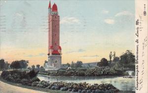 Missouri Saint Louis Comptonheights Watertower 1908
