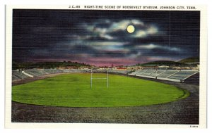 Roosevelt Stadium, Johnson City, TN Postcard *5N(3)22