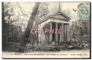Old Postcard Rueil Park Mamaison Temple of & # 39amour