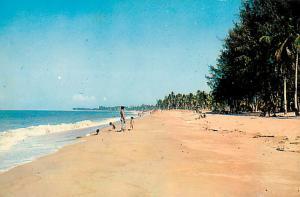 Kota Bahru Beach Kota Bahru Kelantan  Malaya Chrome