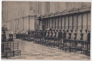 Ypres, Cathedrale St Martin, Stalles de Choeur