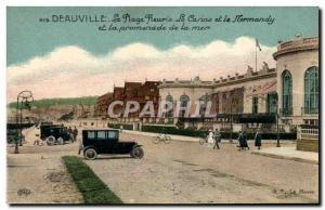 Old Postcard Deauville Casino and Royal Hotel