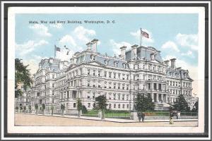 Washington DC State War & Navy Departments Fancy Cancel