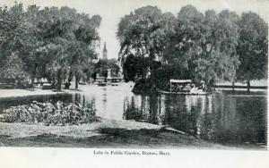 MA - Boston, Lake in the Public Garden