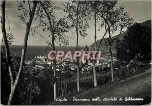 Modern Postcard Panorama stradale Cefalu Gibilmanna Palermo