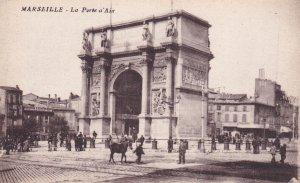 MARSEILLE, Provence-Alpes-Cote d'Azur, France, 1900-1910s; La Porte a'Aix