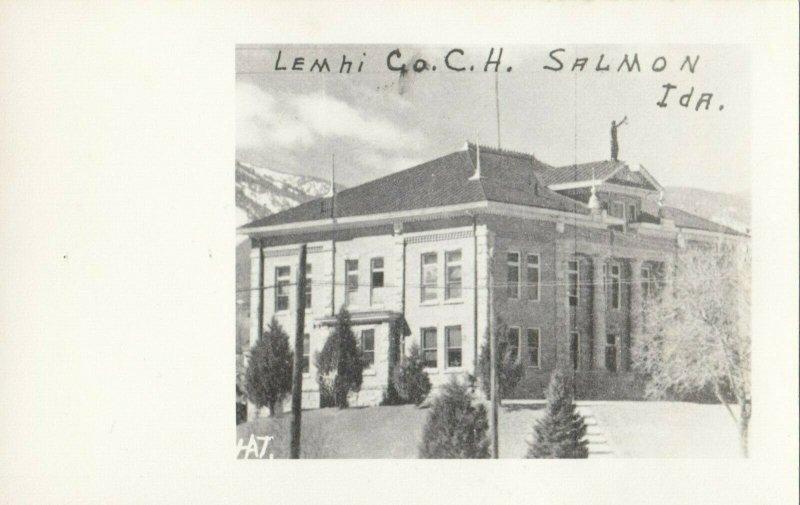 RP: SALMON , Idaho , 1930-40s ; Court House