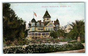 GLENDALE, CA California ~ Glendale SANITARIUM 1909 Los Angeles County Postcard