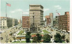 OH - Cleveland, Euclid Avenue & Superior Street
