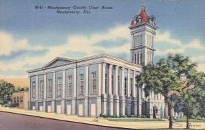 Montgomery County Court House, MONTGOMERY, Alabama, 1930-1940s