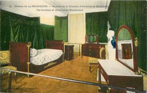 Chateau de La Malmaison furniture of Hortense de Beauharnais France Postcard