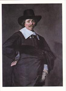 Frans Hals Portrait Of A Dutch Gentleman