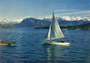 Switzerland - Lucerne, Lake Lucerne & Mountains
