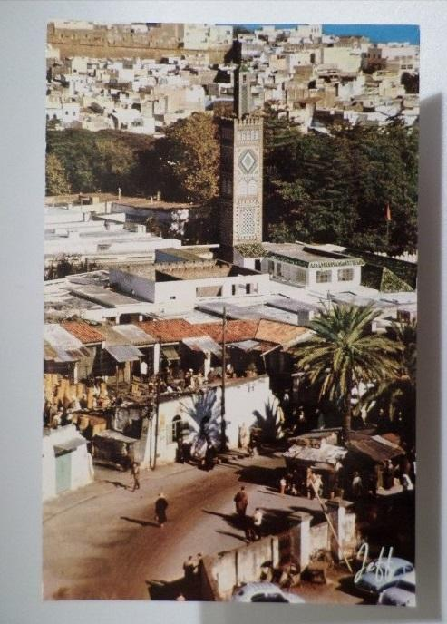 PC 1950s AFRICA MAROC MOROCCO TANGER LA MOSQUÉE THE MOSQUE