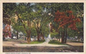 Lower Green Street, Augusta,  Georgia, PU-1916