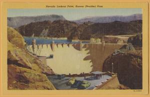 Boulder Dam (Hoover Dam), Nevada Lookout Point - 1951