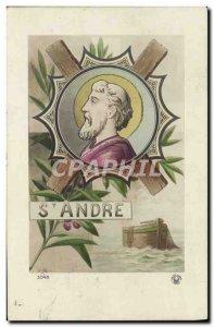 Postcard Old St Andre Surname